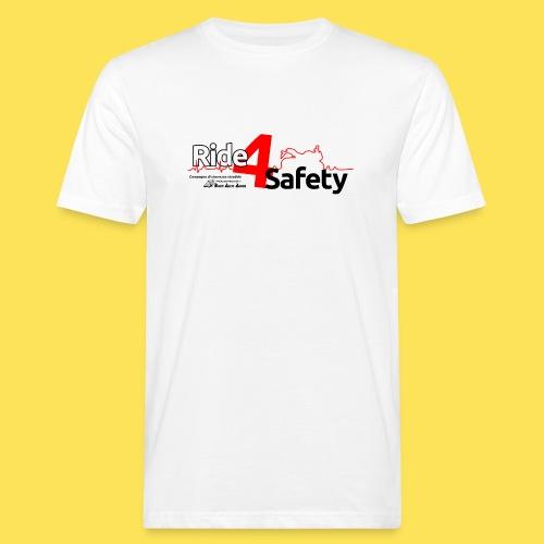 Ride4Safety - T-shirt ecologica da uomo