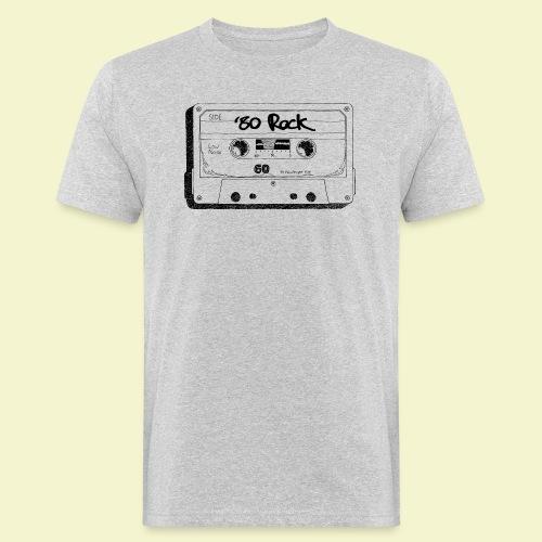 '80 Rock - Black - T-shirt ecologica da uomo