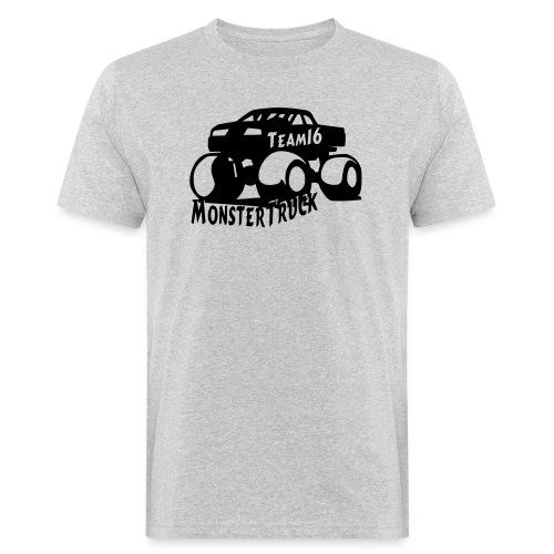 logo mtteam16 noir - T-shirt bio Homme