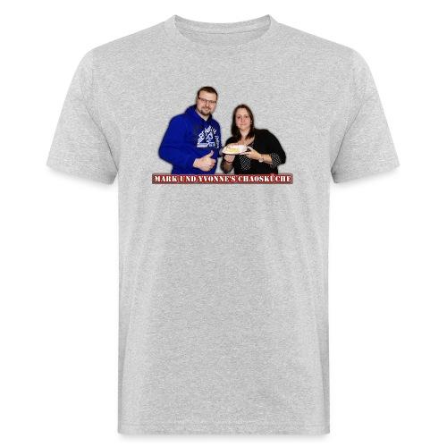 Mark und Yvonne Chaoskueche Logo - Männer Bio-T-Shirt