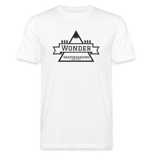 Wonder hoodie no hat - Mountain logo - Organic mænd