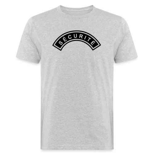 Ecusson Sécurité demilune - T-shirt bio Homme