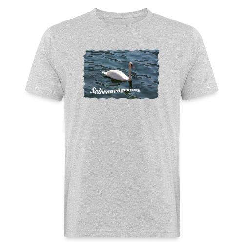 Schwanengesang - Männer Bio-T-Shirt