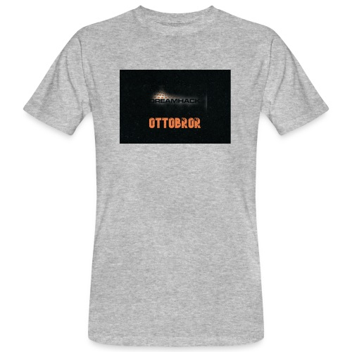 svart granit polerad - Ekologisk T-shirt herr
