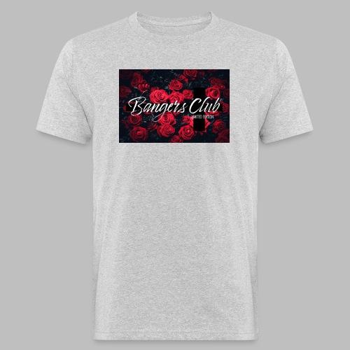 Bangers Club Roses - Männer Bio-T-Shirt