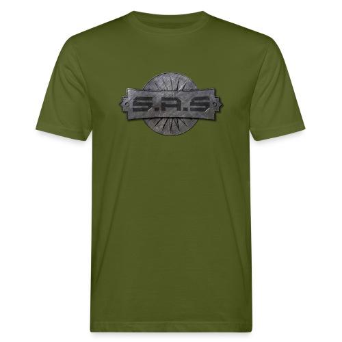metal background scratches surface 18408 3840x2400 - Mannen Bio-T-shirt