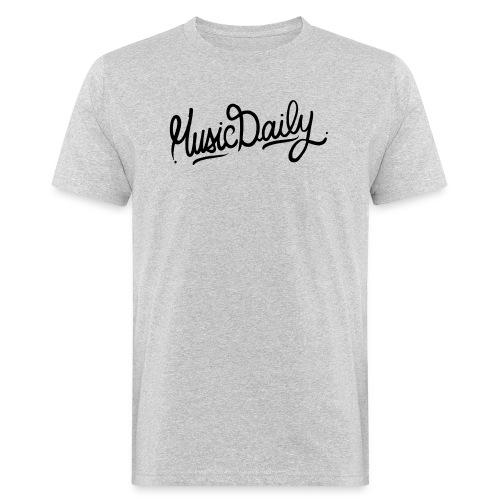 MusicDaily Logo - Mannen Bio-T-shirt