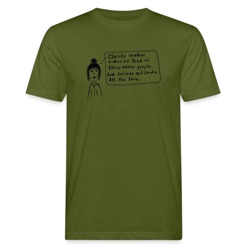 Cloudy weather - Männer Bio-T-Shirt