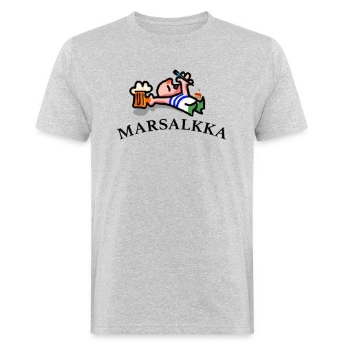 marsalkka - Miesten luonnonmukainen t-paita