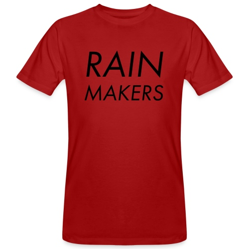 rainmakertext - Miesten luonnonmukainen t-paita