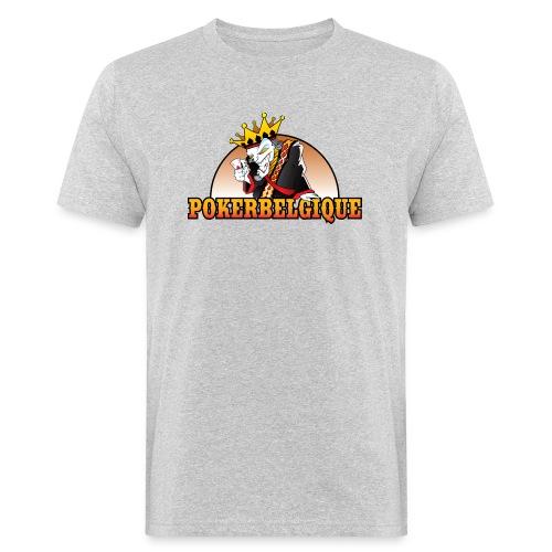 Logo Poker Belgique - T-shirt bio Homme