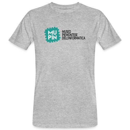 Logo Mupin con scritta - T-shirt ecologica da uomo