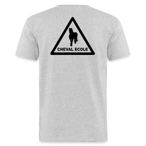 chevalecoletshirt - T-shirt bio Homme