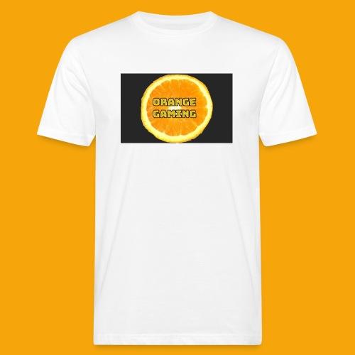 Orange_Logo_Black - Men's Organic T-Shirt