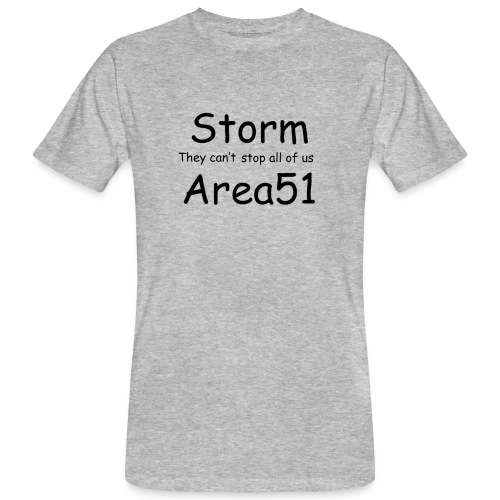 Storm Area 51 - Men's Organic T-Shirt