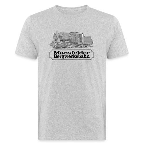 mansfelder bergwerksbahn dampflok 2 - Männer Bio-T-Shirt