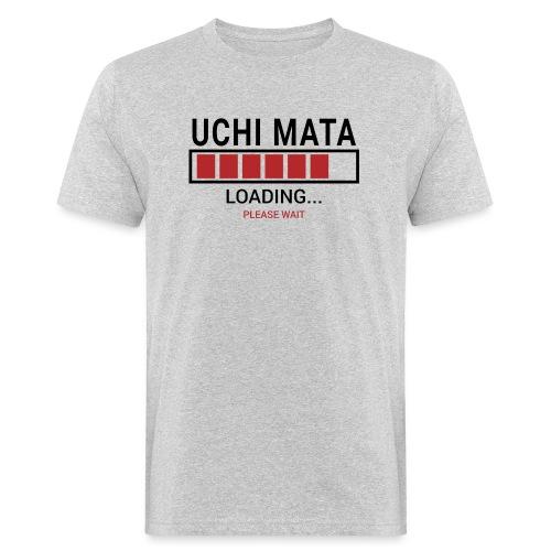 Uchi Mata loading... pleas wait - Ekologiczna koszulka męska