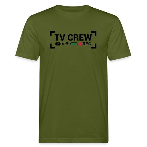 TV Crew - T-shirt ecologica da uomo