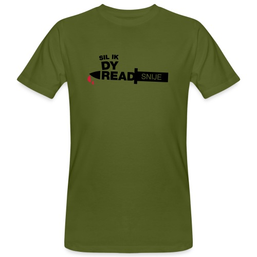 Read snije - Mannen Bio-T-shirt