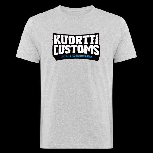 kc pikselilogo - Miesten luonnonmukainen t-paita