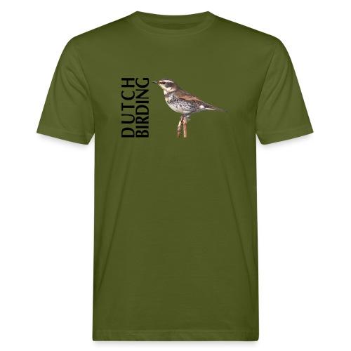 DB / DT Bruine Lijster - Mannen Bio-T-shirt