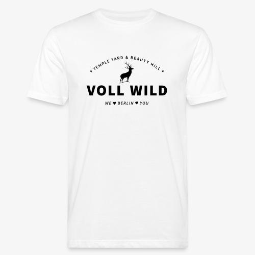 Voll wild // Temple Yard & Beauty Hill - Männer Bio-T-Shirt