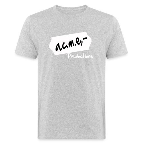 acmeproductionswhite - Männer Bio-T-Shirt
