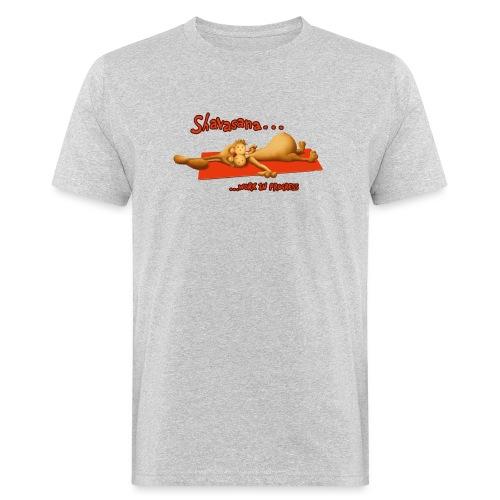 Time for Shavasana - Männer Bio-T-Shirt