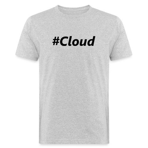 #Cloud black - Männer Bio-T-Shirt