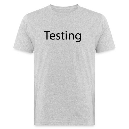 Testing - Organic mænd