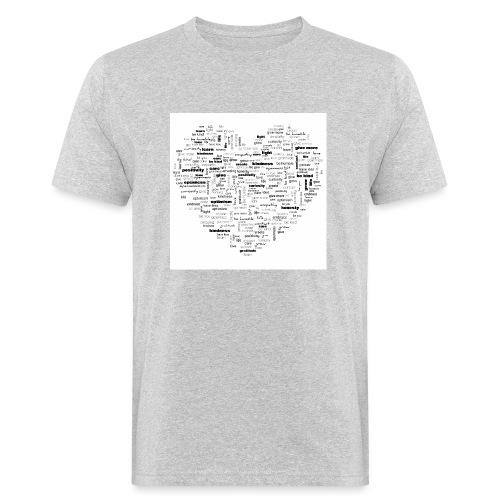 Heart Cluster - Men's Organic T-Shirt