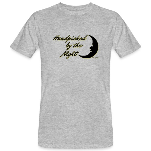 Handpicked design By The Night - Logo Black - Men's Organic T-Shirt