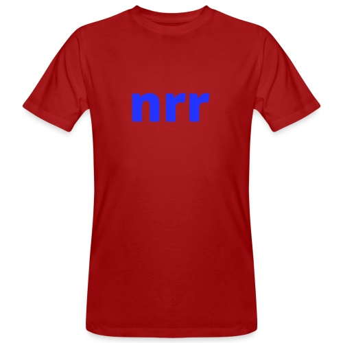 NEARER logo - Men's Organic T-Shirt