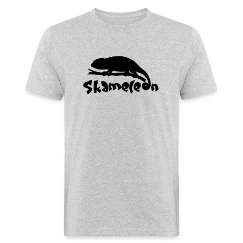 logoskameleon - Männer Bio-T-Shirt