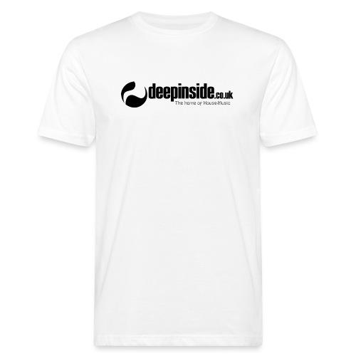 DEEPINSIDE The home of House-Music (Black) - Men's Organic T-Shirt