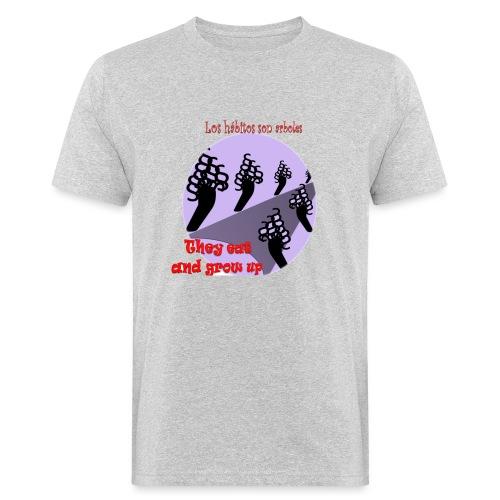 hábitos - Camiseta ecológica hombre