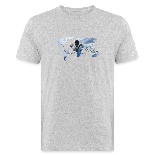 One World One Promise - Männer Bio-T-Shirt