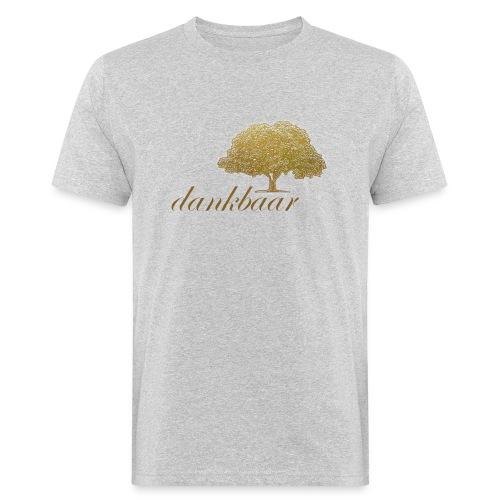 Dankbaar Boom Goud - Mannen Bio-T-shirt