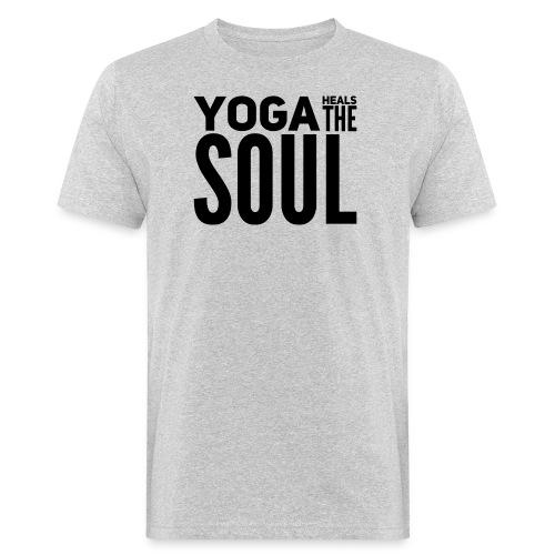 yogalover - Mannen Bio-T-shirt