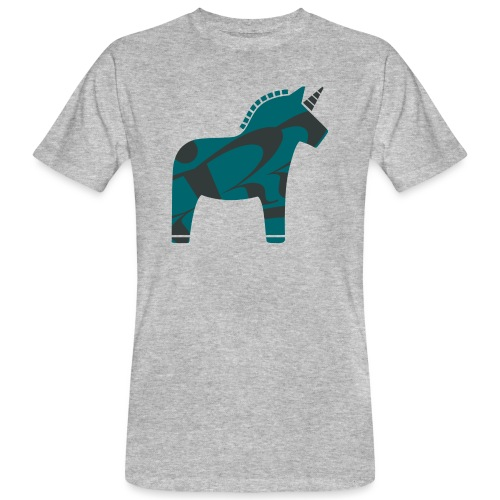 Swedish Unicorn - Männer Bio-T-Shirt