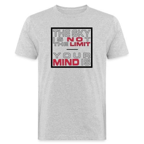 No Limit Mind - Männer Bio-T-Shirt