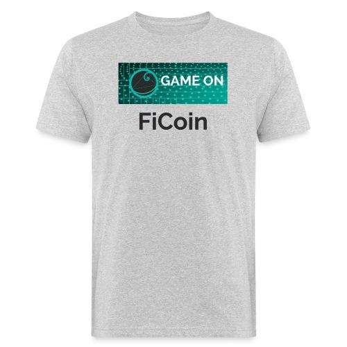 GameOn Dark Tekst - Mannen Bio-T-shirt
