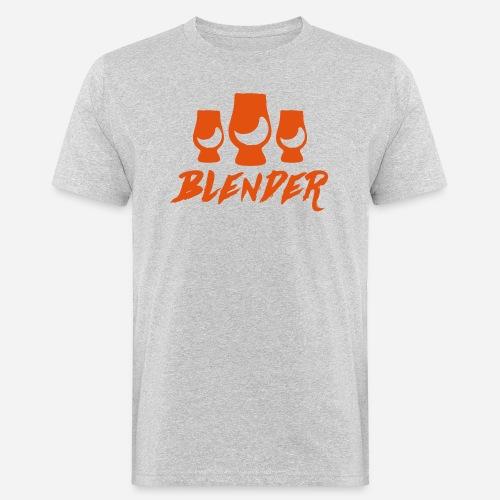 Blender - Blended Whisky - Männer Bio-T-Shirt