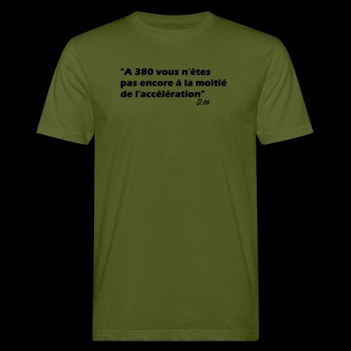 380 noir - T-shirt bio Homme