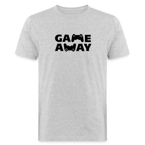 game away - Mannen Bio-T-shirt