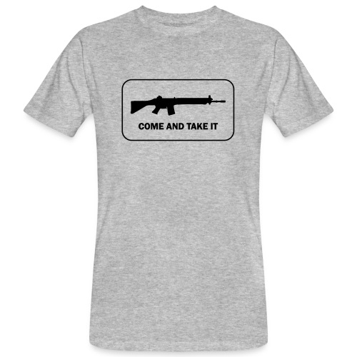 Come and take it Swiss Edition - Männer Bio-T-Shirt