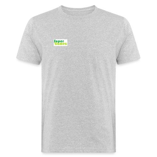 Super Gamez - Mannen Bio-T-shirt