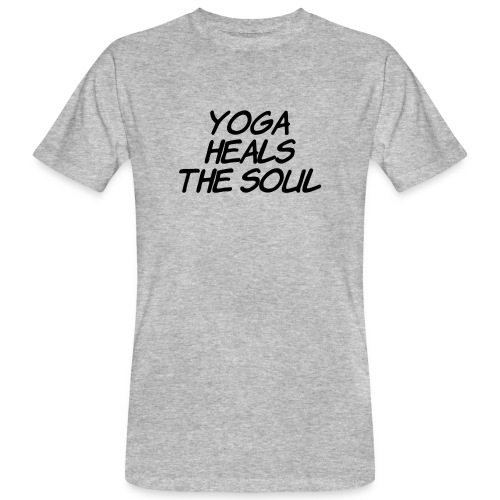 yoga - Mannen Bio-T-shirt