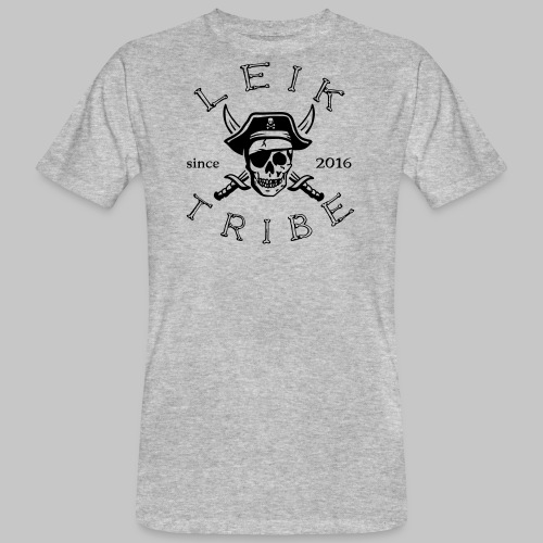LeikTribe Pirat - 01 - Männer Bio-T-Shirt