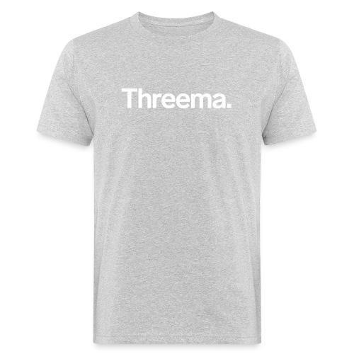 Logo nur Schriftzug - Männer Bio-T-Shirt